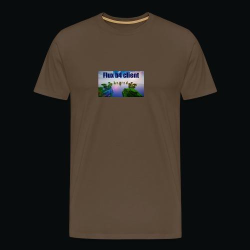 Flux b4 client shirt - Premium-T-shirt herr