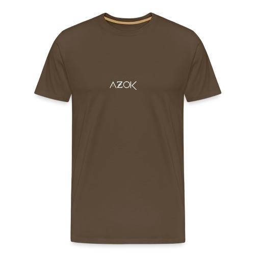 Azok Hoodie Red - Men's Premium T-Shirt