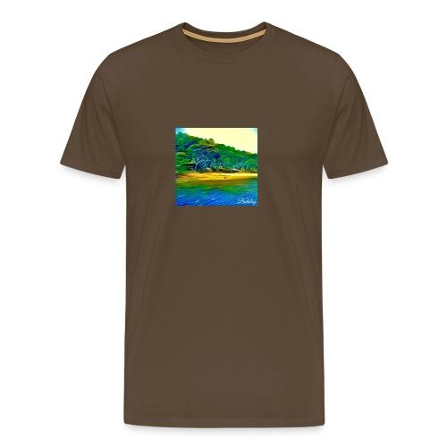 Tropical beach - Maglietta Premium da uomo
