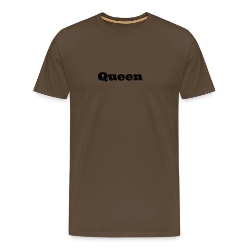 Snapback queen rood/zwart - Mannen Premium T-shirt