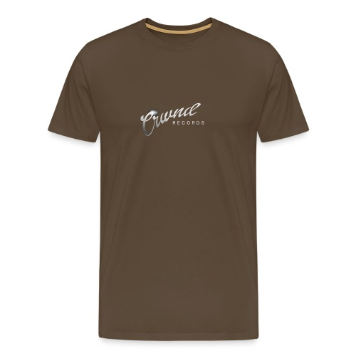 Crwnd Logo Paste - Men's Premium T-Shirt