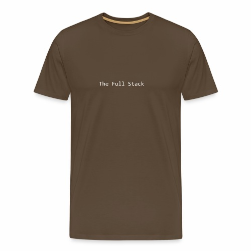 The Full Stack - Men's Premium T-Shirt