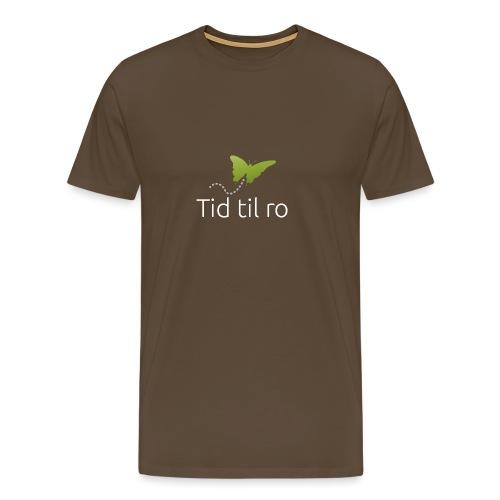 Tid til ro - Herre premium T-shirt