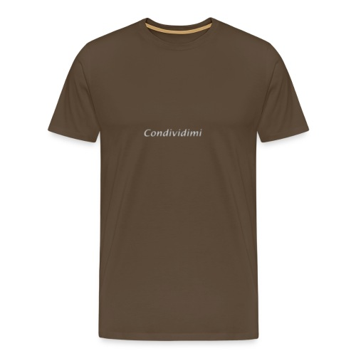 condividimi - Maglietta Premium da uomo