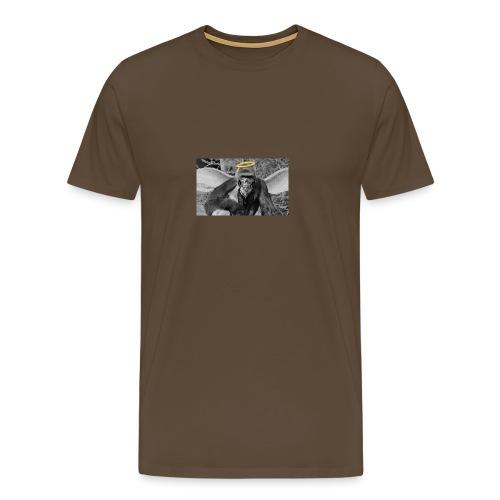 G Harambe - Premium-T-shirt herr
