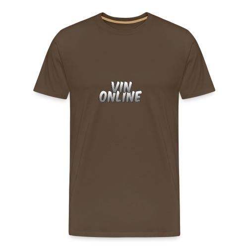 VinOnline T;shirt - Mannen Premium T-shirt