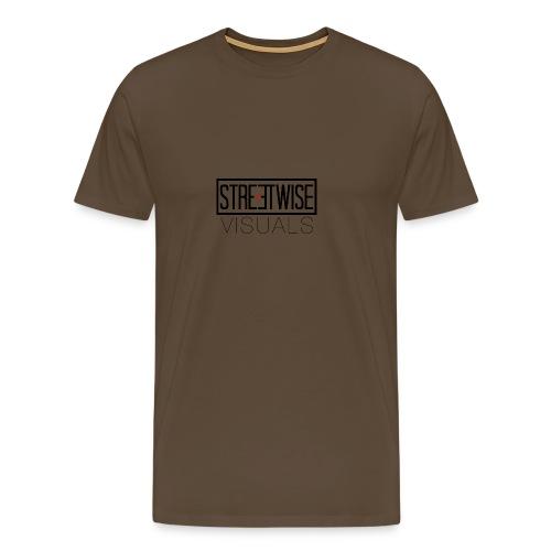 Streetwise Visuals | LONGFIT - Mannen Premium T-shirt