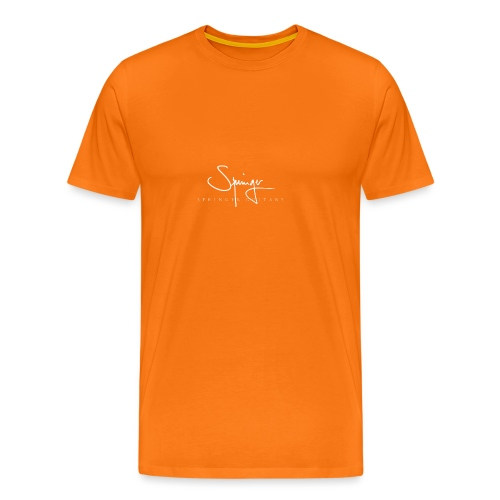 Logo Springer Guitars - T-shirt Premium Homme
