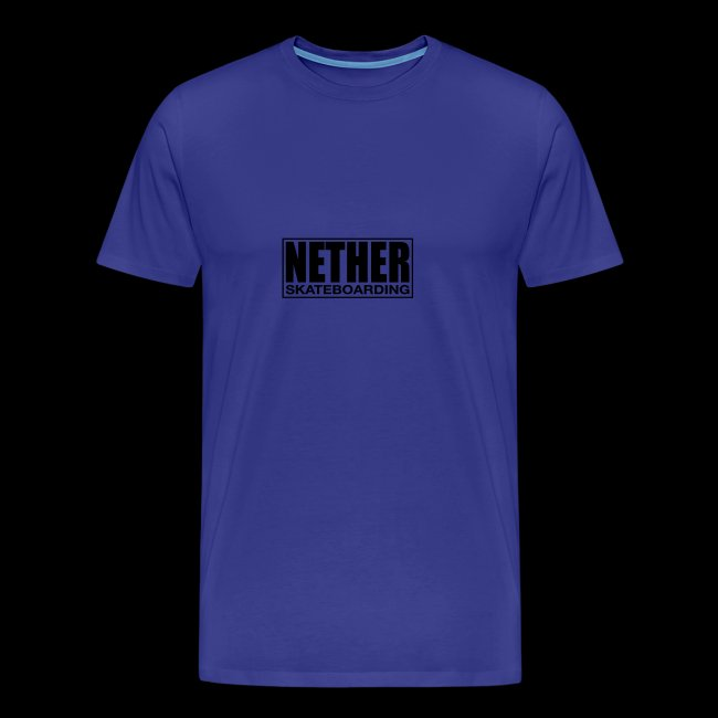 Nether Skateboarding T-shirt White