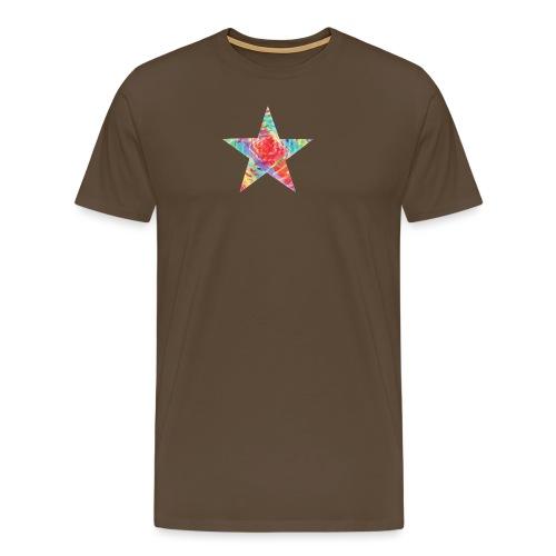 Color star of david - Men's Premium T-Shirt