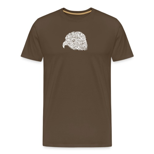 aigle royal blanc - T-shirt Premium Homme