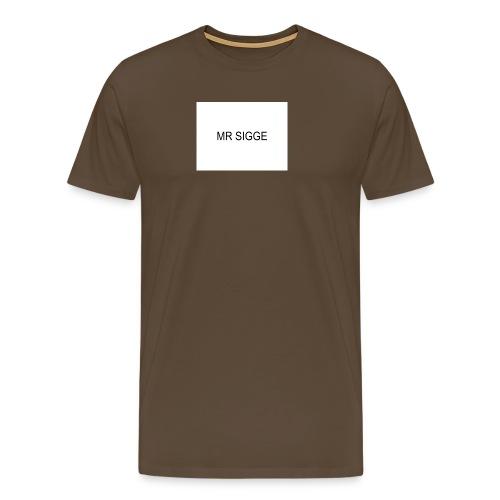MR SIGGE - Premium-T-shirt herr