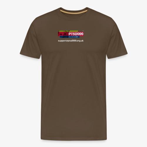 PTSD999 Logo 3 - Men's Premium T-Shirt