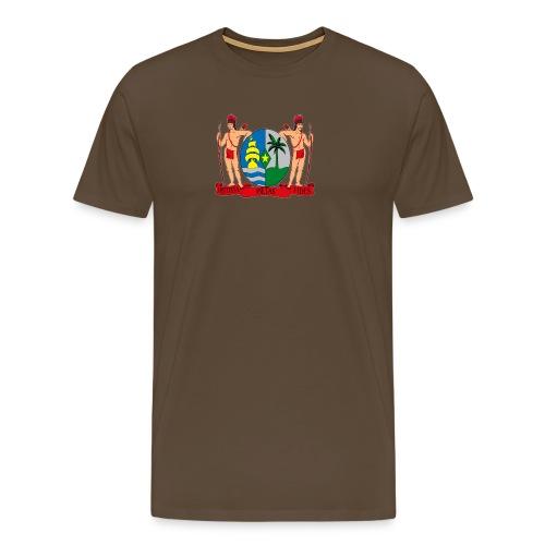 wapen van suriname png - Mannen Premium T-shirt