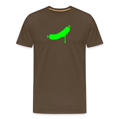 druckvorlage wurst ohne - Männer Premium T-Shirt