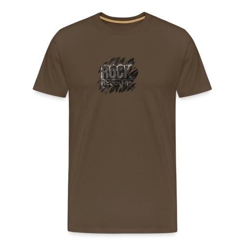 ROCK - Maglietta Premium da uomo