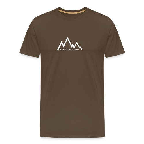 mountaineer - Men's Premium T-Shirt