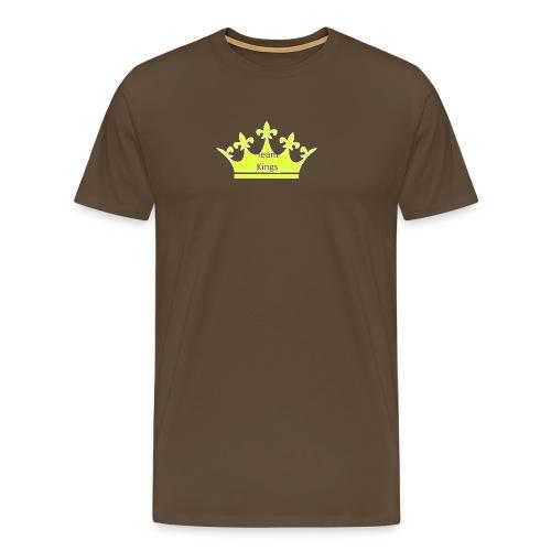 Team King Crown - Men's Premium T-Shirt