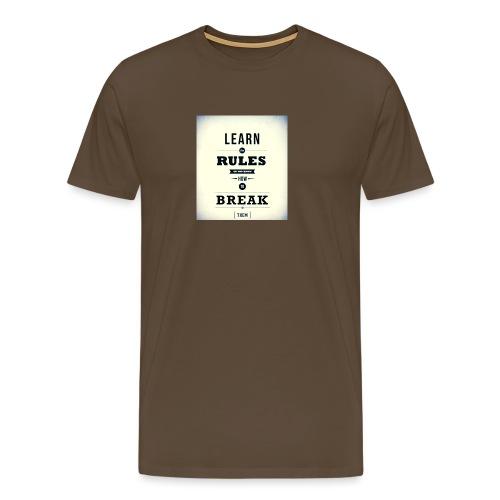 RULES - Mannen Premium T-shirt