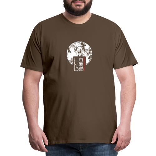 LAK pattern logo - Premium-T-shirt herr