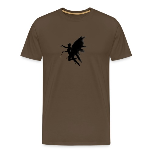 Fairy design angel with angelwings - Mannen Premium T-shirt