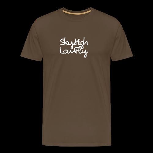 SkyHighLowFly - Men's Sweater - White - Men's Premium T-Shirt