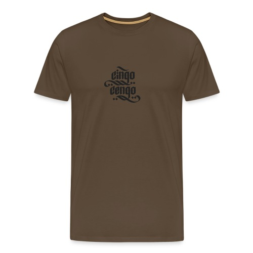 Logo CingoCengo BLACK - Männer Premium T-Shirt