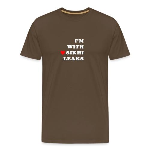S-L-_I love SikhiLeaks - Men's Premium T-Shirt