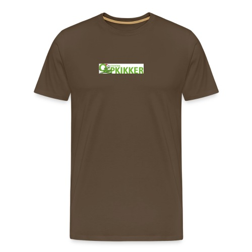Logo Opkikker - Mannen Premium T-shirt