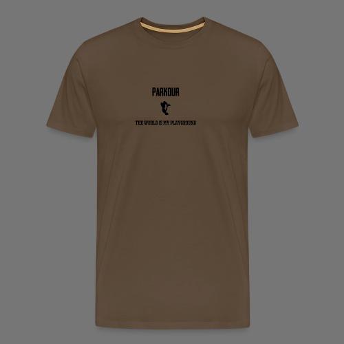 World is my playground - Mannen Premium T-shirt