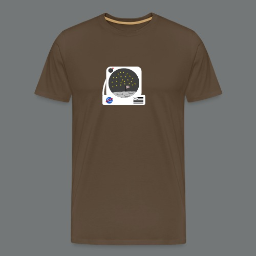 petite marche sur la lune - T-shirt Premium Homme