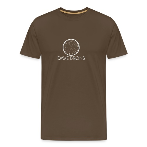 Dave Brons T Shirts logo design - Men's Premium T-Shirt