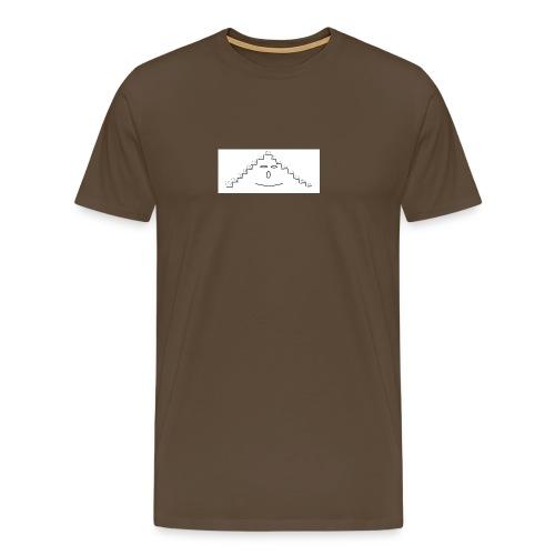 faccina scala - Maglietta Premium da uomo