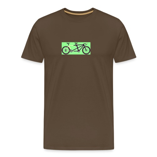 Llum Design 2RDisc Tandem BikeCAD - Mannen Premium T-shirt