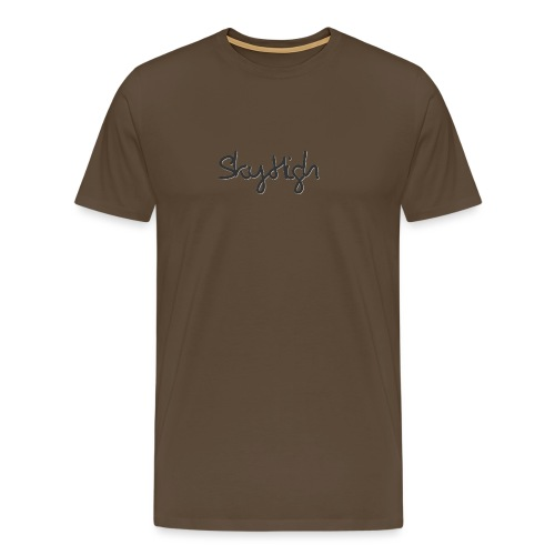 SkyHigh - Women's Premium T-Shirt - Black Lettering - Men's Premium T-Shirt