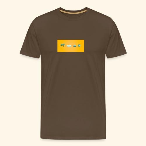 bitcoin ewolucja pieniadza - Koszulka męska Premium