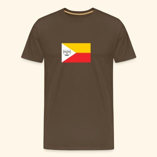 Drapeau des îles Marquises - T-shirt Premium Homme