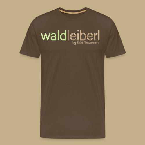 waldleiberl logo by reini rossmann - Männer Premium T-Shirt