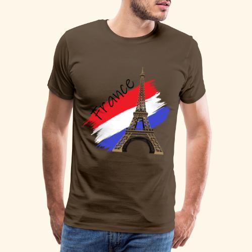 Frankreich Eiffelturm - Männer Premium T-Shirt