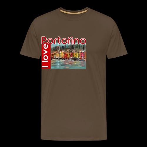 I love Portofino. Italy. - Männer Premium T-Shirt