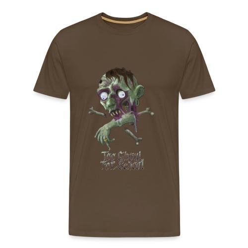Too Ghoul For School - Men's Premium T-Shirt