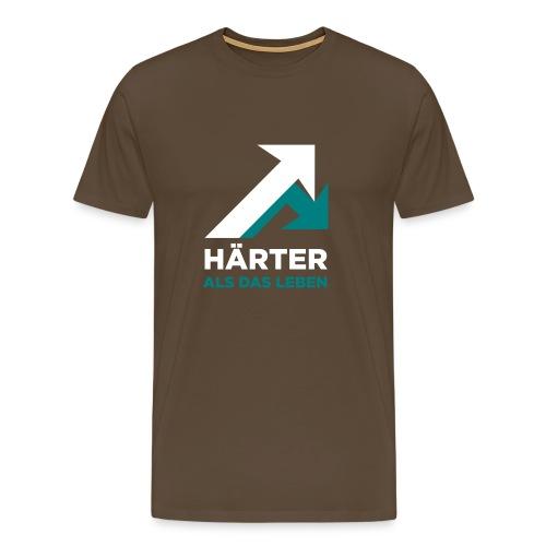 motiv1hartergrey2 - Männer Premium T-Shirt
