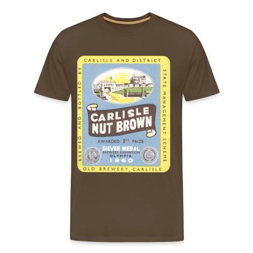 Carlisle Nut Brown2 copy - Men's Premium T-Shirt