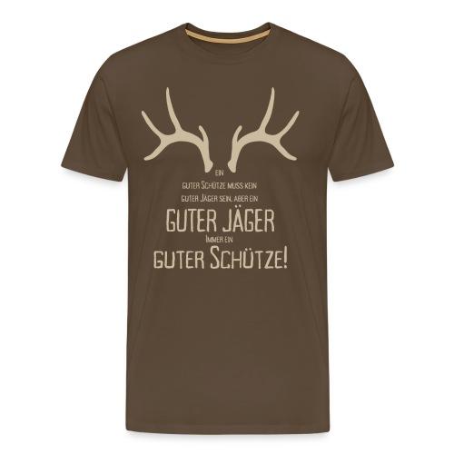 schütze2 png - Männer Premium T-Shirt