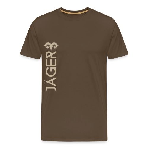 jäger muffel png - Männer Premium T-Shirt