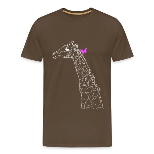 papillon rose.png Tee shirts - T-shirt Premium Homme