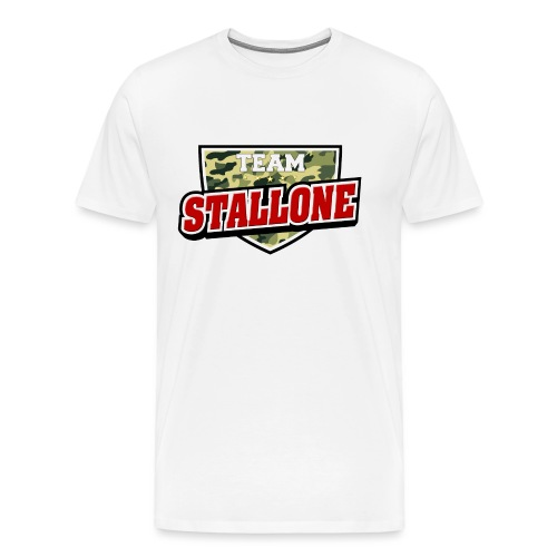 Team Stallone edit png - Herre premium T-shirt