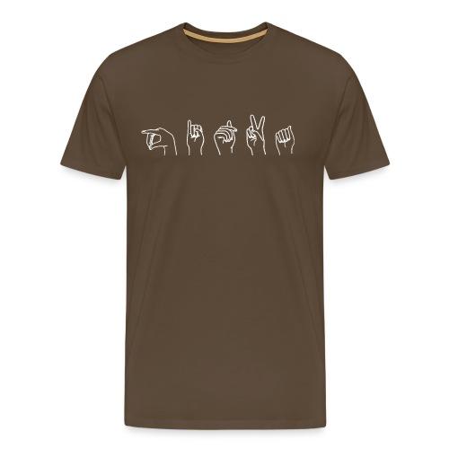 kadet iso valk - Miesten premium t-paita