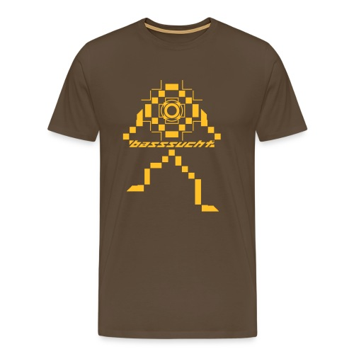 Basssucht - Männer Premium T-Shirt