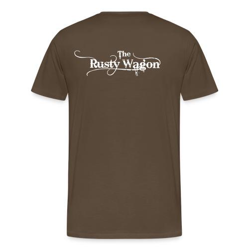 RUSTY Schriftzug - Männer Premium T-Shirt